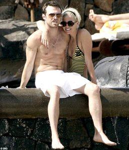 Sarah Harding & Tom Crane beach Mauritius
